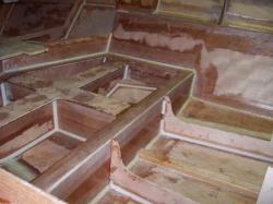 stratification du puit de quille