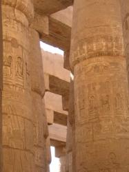 Karnak - salle hypostyle - 2009