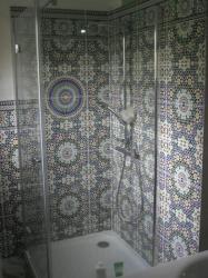 bac à douche grande taille