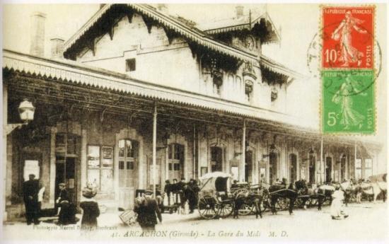 Arcachon - la gare