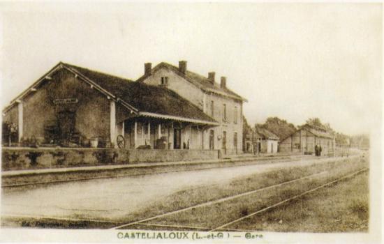 Casteljaloux - côté voies