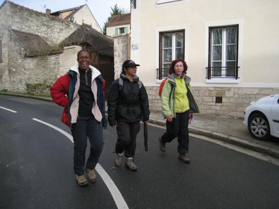 Maryse, Micheline, Yvette à Frouville