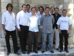 l'équipe pédagogique de l'Académie de Cuivres et Percussions de SURGERES