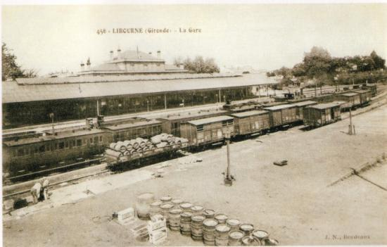 Libourne - Gare des marchandises