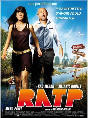 parodie fausse affiche film RTT RATP