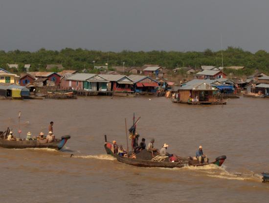 la traversée du lac CAMBODGE Tonle Sap @hellomisterd.com