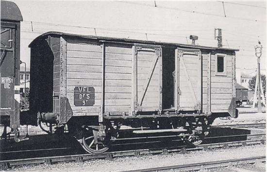 Fourgon Df-5