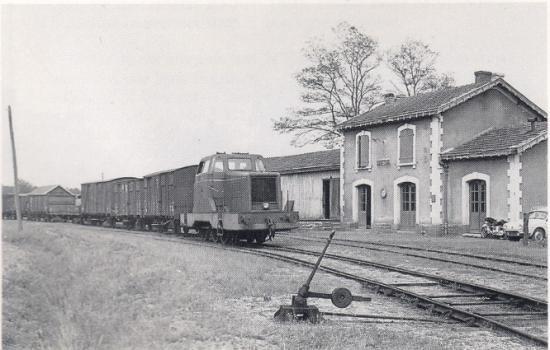 Train de bois à Soustons