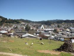 Chamula - Vista sobre la ciudad