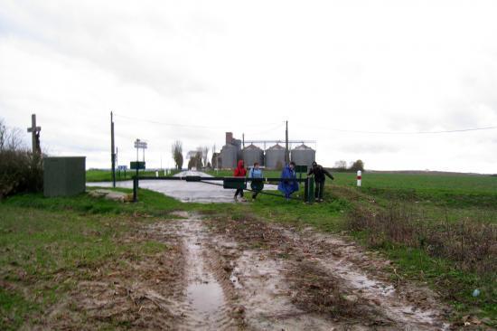 Le silo près de Génicourt