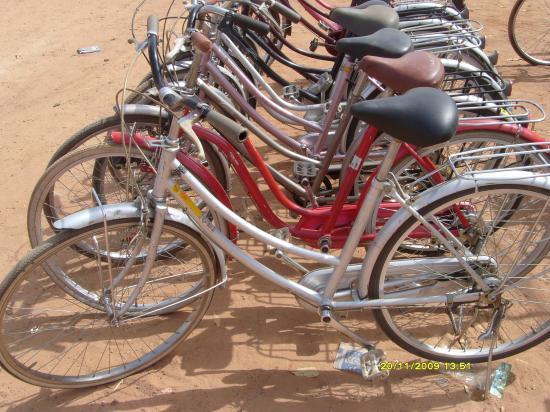 le vélo gris
