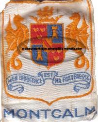 insigne tissu - Croiseur Montcalm