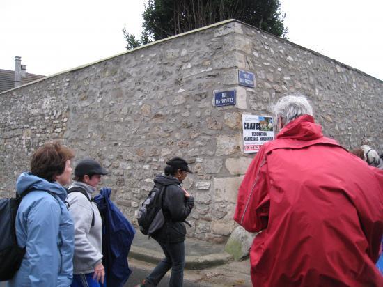 Rue des fossettes à Génicourt