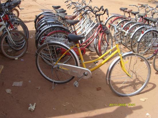 Le vélo jaune