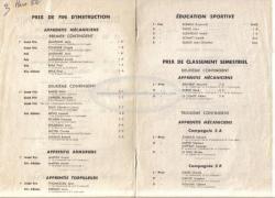 prix de fin d'instruction - toulon - mars 52- pages 2 et 3