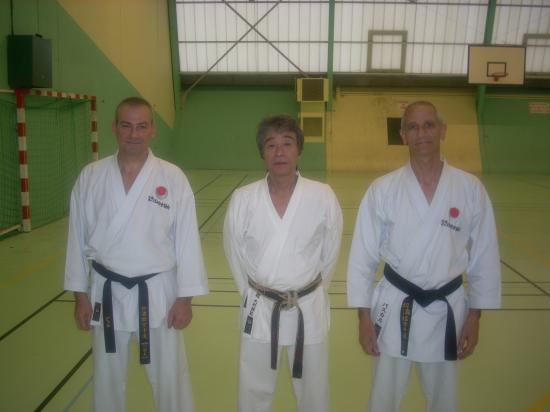 Sensei Omura chef instructeur de la Thailande