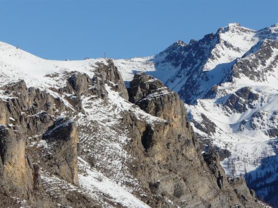 La via ferrata d'Auron en hiver (06)