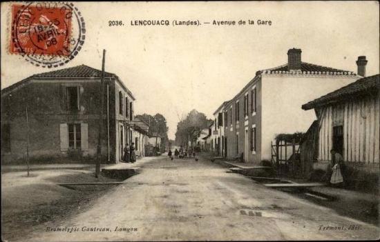 Lencouacq - av de la gare