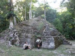 El Mirador - templo de la Muerta