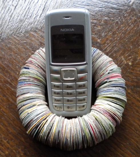 pose téléphone