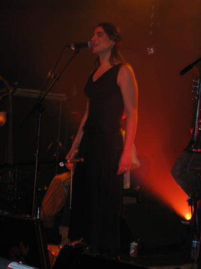 Marion, chanteuse du Chat Noir