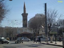 La mosquée avec porte d'Alger