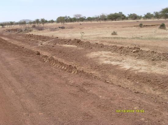 Les bords de piste mal compactés