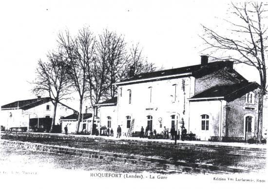 Une autre vue de la gare de Roquefort