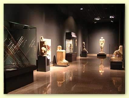 Salles du musée