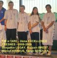 TIR à l'ARC excellence - 2009- 2ème à FRESNES
