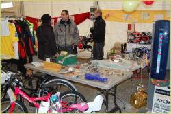 Visite de l'expo artisanale