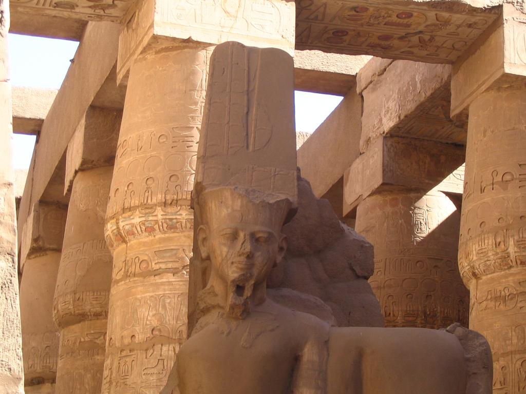 Karnak - dieu Amon