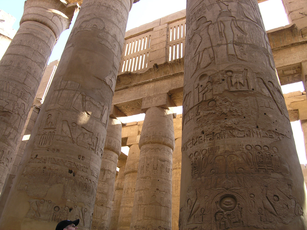 Grande salle hypostyle de Karnak