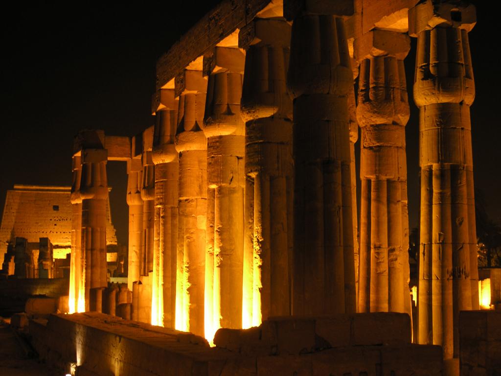 Allée des colonnes - Temple de Louxor