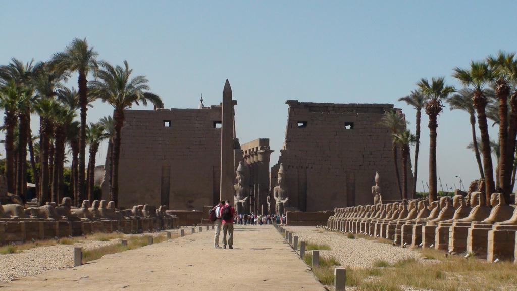 Pylône du temple de Louxor
