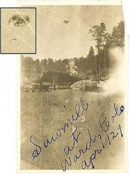 1932  ovni ufo St. Paris, Ohio. ovni ufo
