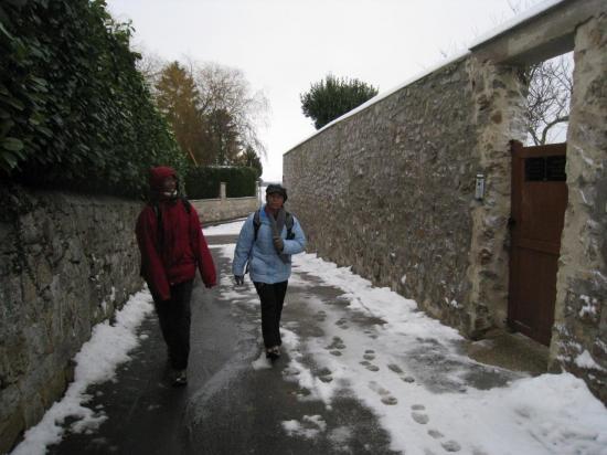 Maryse, Micheline Sente de la Procession à Génicourt