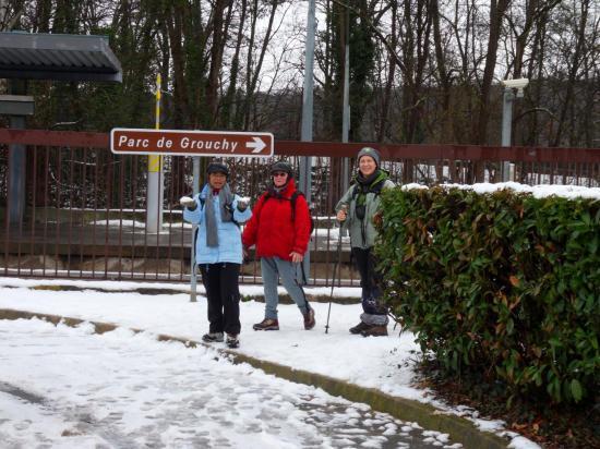 Arrivée à la Gare d'Osny