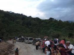 Hasta Tucuru, reten a causa de las obras
