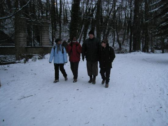 Micheline, Maryse, Antoine et Maria, Grouchy