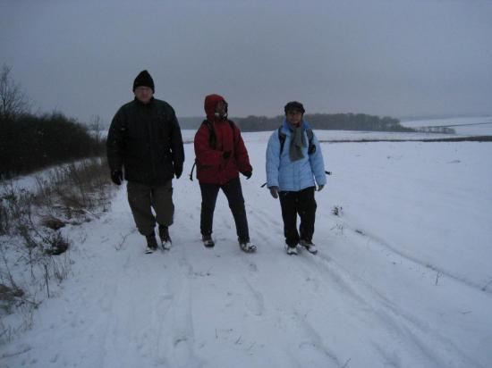 Antoine, Maryse et Micheline,