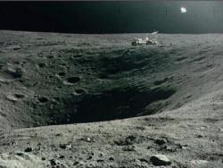 1972 Apollo 16, Lune b