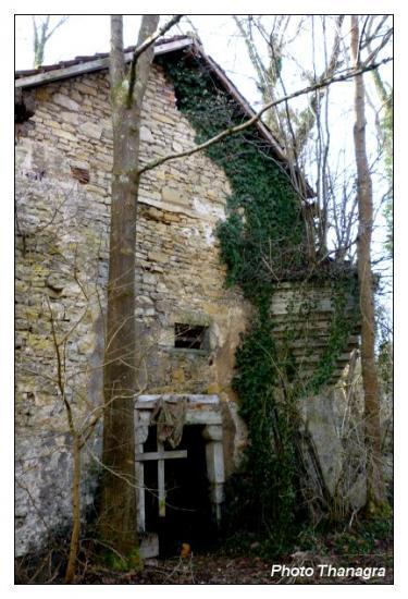 Les ruines du château de Bourogne
