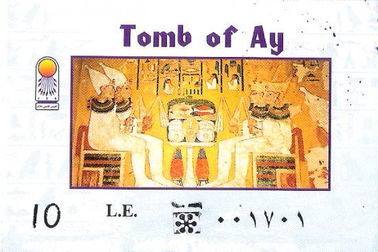 Dans La Vallee Des Singes 37 Vous Pouvez Visiter Tombe Du Successeur De Toutankhamon Le Vieux Pharaon Ay Ce Joyau XVIIIeme Dynastie Est A