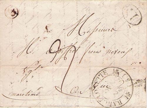 Courrier de 1841