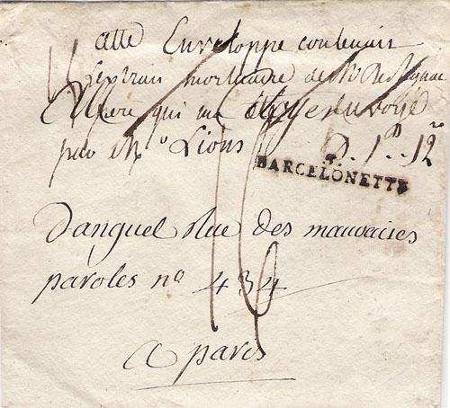 Courrier de 1792