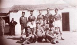 Equipe reserve 1948.On reconnait Jean FLORIT et Gilbert PEREZ.