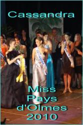 Miss Pays d'Olmes 2010