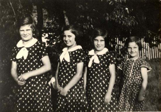 Marthe, Jacqueline, Madeleine, Suzanne Antoni