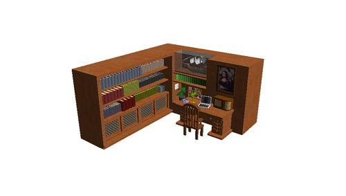 Meubles biblioth que bureau for Meuble bureau bibliotheque